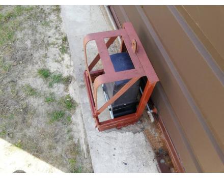 Антивандальная защита для привода откатных ворот