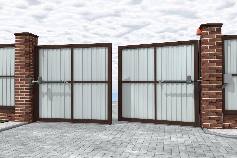 автоматические ворота для частного дома